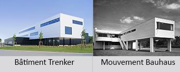 mouvement bauhaus trenker architecture